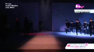 140321 EXO - [FULL] Catwalk + Growl Remix, SEOUL FASHION WEEK [HD]