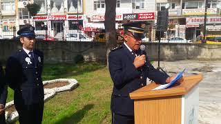 Video  Mahmut Coşkun - Boyabatta Polis Teşkilatı'nın 173. Kuruluş Yıldönümü Kutlandı