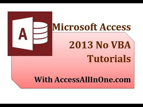 Access 2013 60 - More Conditional Formatting