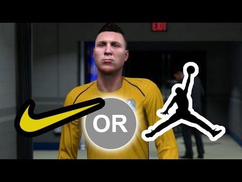 DECIDING BETWEEN NIKE AND JORDAN! NBA 2K18 My Career #10