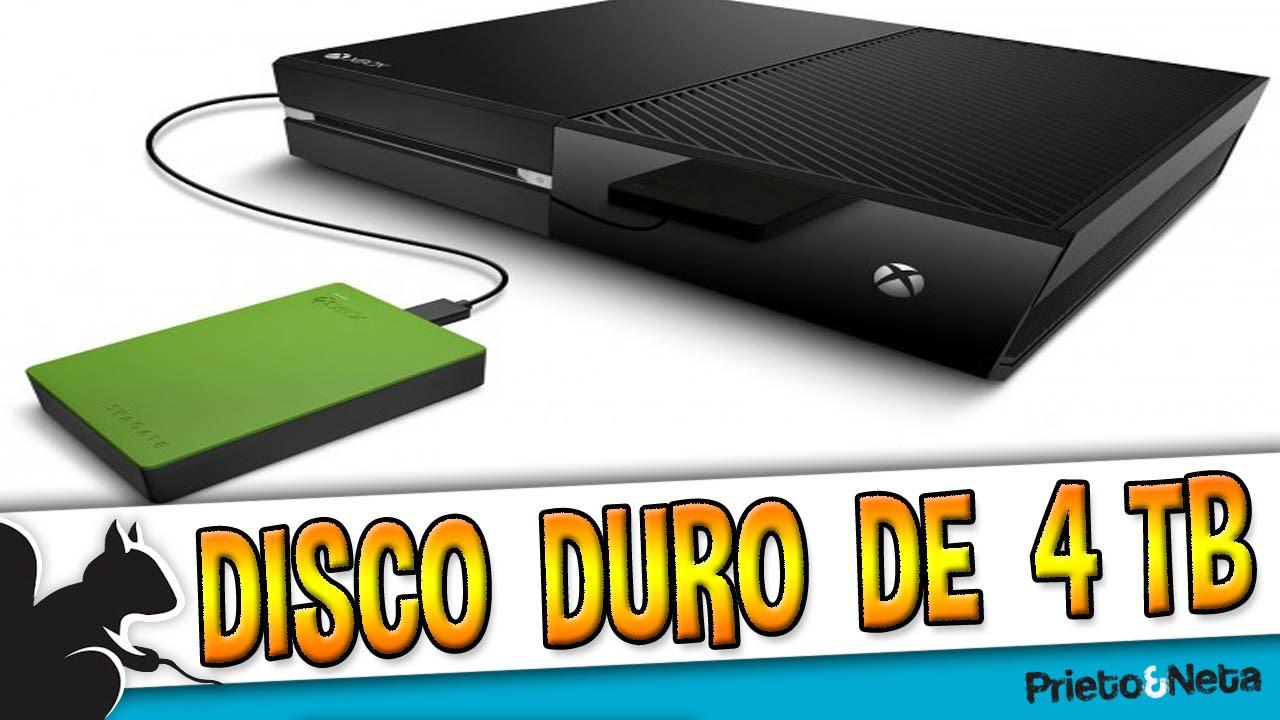 Xbox one un disco duro externo de 4tb llega a xbox one for Ssd esterno xbox one