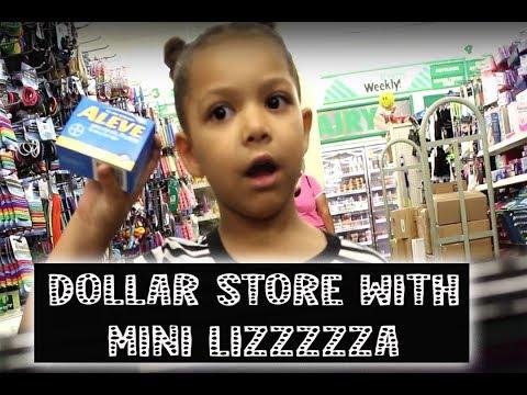 GET MONEY!! DOLLAR STORE WITH MINI LIZZZA | MiNI Lizzza (parody)