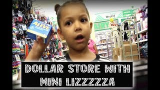 GET MONEY!! DOLLAR STORE WITH MINI LIZZZA | MiNI Lizzza (parody)