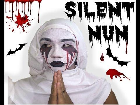 SILENT NUN | Halloween Tutorial