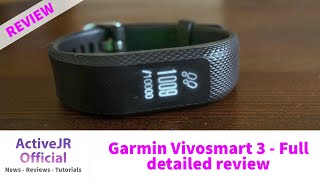Garmin Vivosmart 3 - Full review - is this better than a Fitbit Charge 2