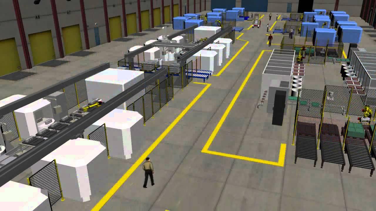 Factory Visualization Videowmv YouTube