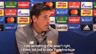 Sevilla Manager Eduardo Berizzo Admits 'Mistake' Which Led To Red Card In Liverpool Game