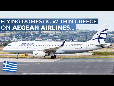 TRIPREPORT | Aegean Airlines (ECONOMY CLASS) | Thessaloniki - Athens | Airbus A320
