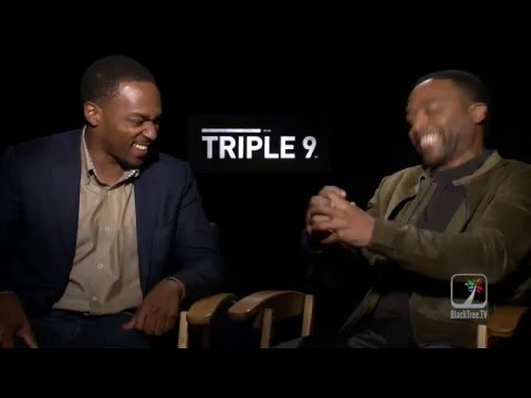 Triple 9 Interview w/ Anthony Mackie and Chiwetel Ejiofor