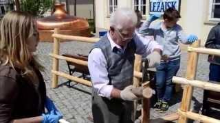 Zachować dla przyszłych pokoleń - Kazimierz Stępień - płot drewniany