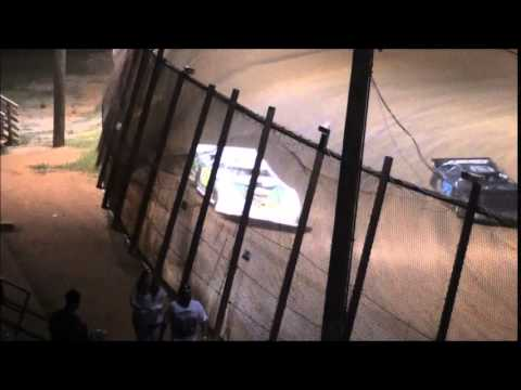 Pro Late Model Heat #2 from Ponderosa Speedway 6/13/14.