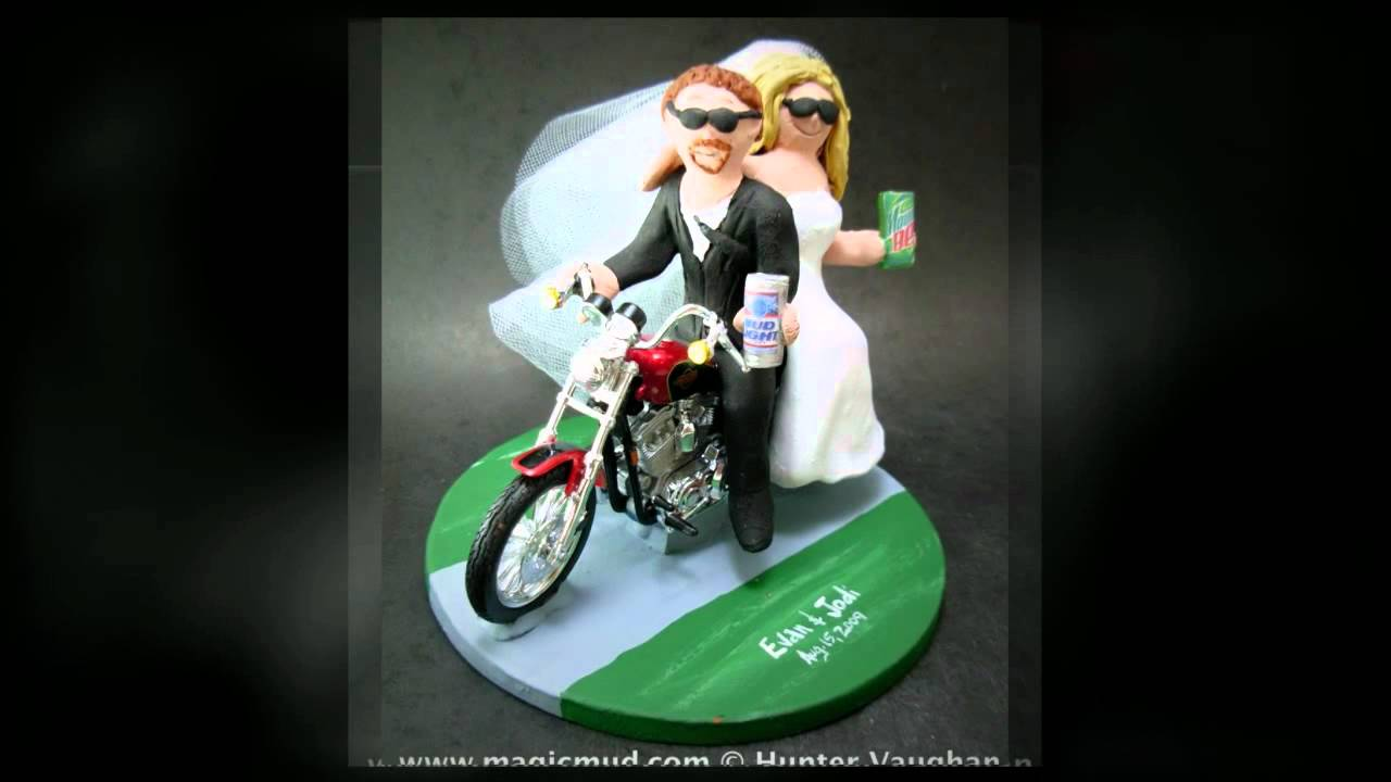 Harley Davidson Wedding: Harley Davidson Wedding Cake Toppers