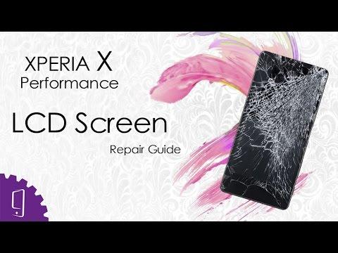 Sony Xperia X Performance LCD Screen Repair Guide
