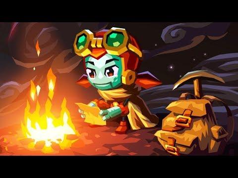 VICIEI NESSE GAME, MUITO DIVERTIDO! - Steamworld Dig 2 Gameplay no Nintendo Switch!