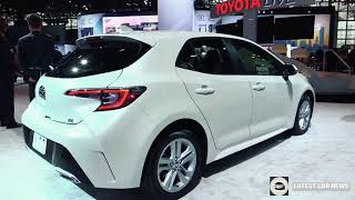 New 2019 | 2019 Toyota Corolla Hatchback - Exterior and Interior Walkaround in HD