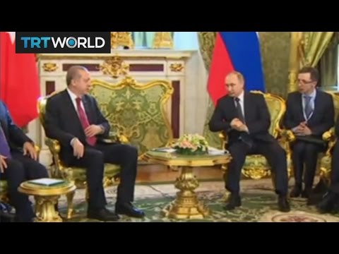Turkey-Russia Relations: Turkish and Russian presidents meet in Moscow
