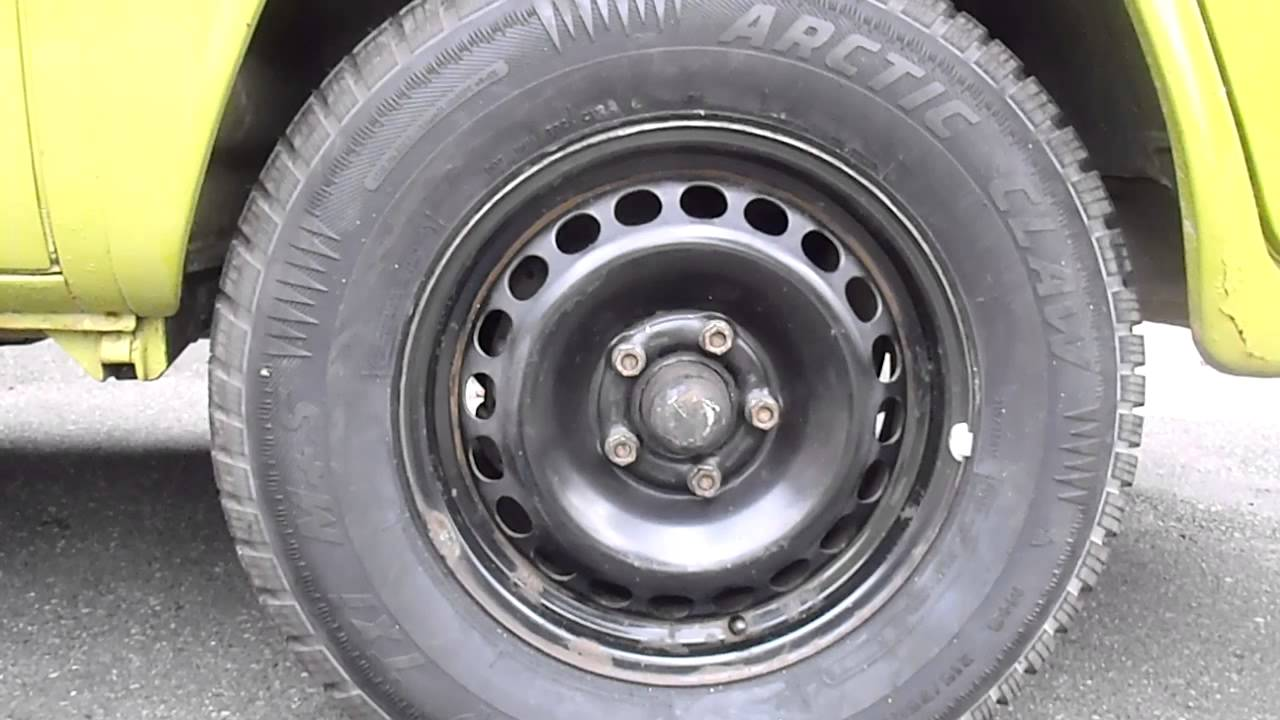 vw type 2 bus tire size - YouTube