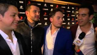 Il Volo, Will Smith, Natalia Jimenez, Calibre 50 en Sony Music Latin After Party Red Carpe ...