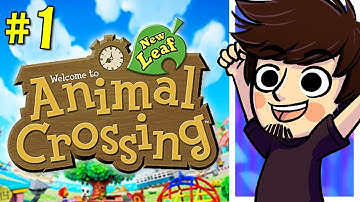 Animal Crossing New Leaf - NEW TOWN! | Nintendo 3DS (Part 1) - PeebLive