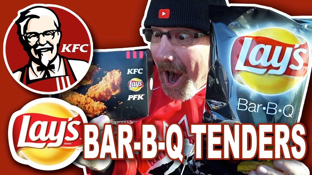 KFC ???? NEW!!! LAY'S Bar-B-Q TENDERS Food Review