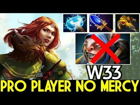W33 [Windranger] Pro Player No Mercy Insane Mid Lane 7.22 Dota 2