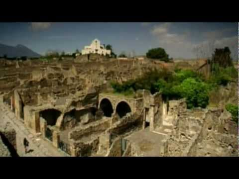 Pompeii, Italy The city of Pompeii is a partially buried Roman town near modern day Naples.