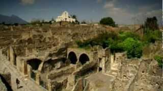 Pompeii, Italy The city of Pompeii is a partially buried Roman town near modern day Naples.