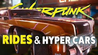 Cyberpunk 2077 - NEW Gameplay | All Vehicle Types Breakdown
