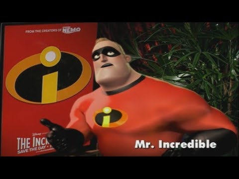 The Incredibles Bob Parr/Mr. Incredible Interview
