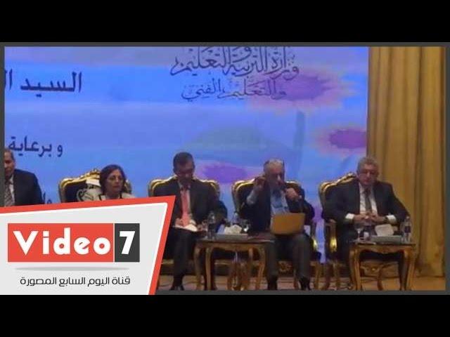 طارق شوقى: الدروس الخصوصية نتاج النظام التعليمى الحالى