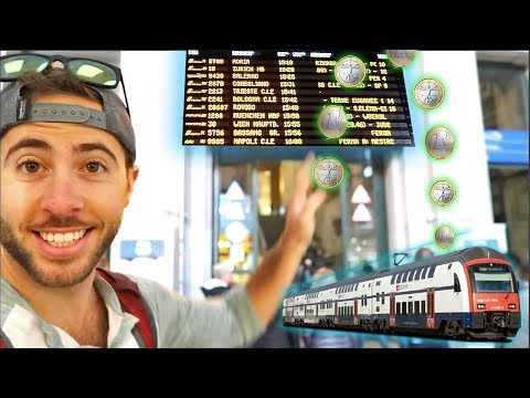 (FLIPPED A COIN) MYSTERY TRAINS IN EUROPE WITH MY MOM!