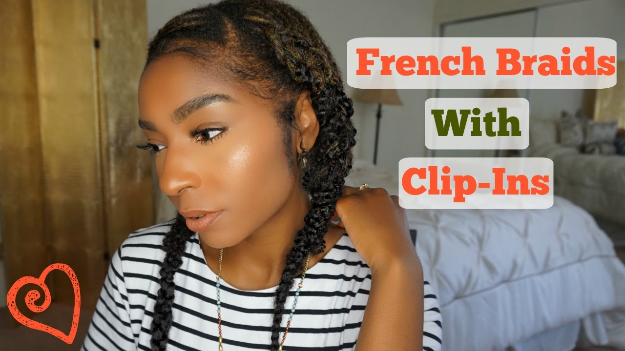 Natural hair 2 cornrow braids with kinky curly clip ins natural hair 2 cornrow braids with kinky curly clip ins jamexicanbeauty youtube pmusecretfo Gallery