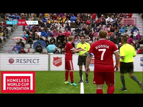 Oslo 2017 - Men's Homeless World Cup 3rd and 4th Place - Russia v Chile