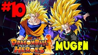 The Official Timeline's Greatest Heroes! | Dragon Ball Heroes: MUGEN - Episode 10