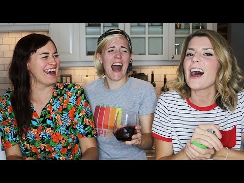 TASTE BUDS! ft. Grace Helbig and Mamrie Hart!