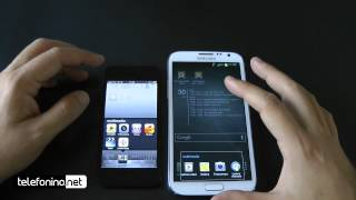 apple iphone 5 versus samsung galaxy note 2 da telefonino net