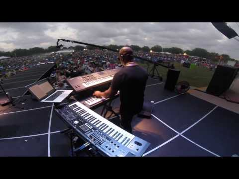 "Nathan Mitchell on keys w/ Darren Rahn ""Sonic Boom"" @ Seabreeze 2017"