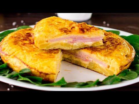În loc de clasica omletă prepară această tortilla de cartofi! Familia îți va mulțumi! | SavurosTV