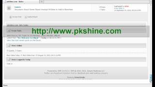 PKShine.com An Overview Best Pakistani Forums
