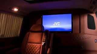 VIP-переоборудование микроавтобусов от