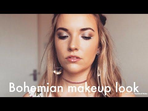 Bohemian Make Up Tutorial | Hippie