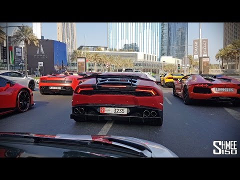 How Dubai Does LAMBORGHINIS!