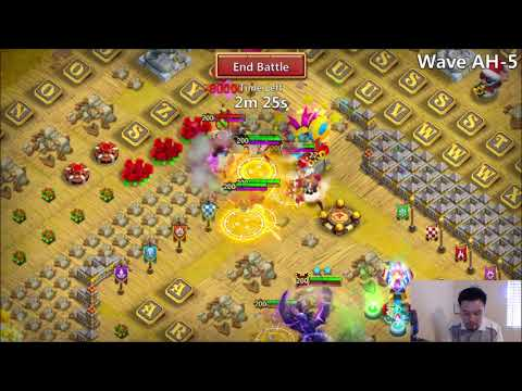 Castle Clash HBM AH CANNON Towers? XD