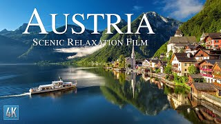Austria 4K Scenic Relaxation Film | Vienna Drone Video | Bavarian Alps 4K Aerial Footage