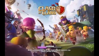 Clash of clans war attacks with jumping pizza
