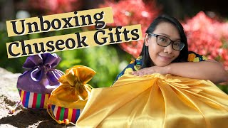 Unboxing Chuseok Gifts | 언박싱 추…