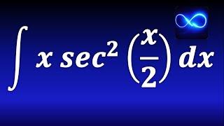 Integral de x por secante cuadrada, mediante integración por partes