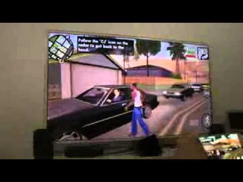 gta san andreas samsung galaxy s5 smart tv hd gameplay. Black Bedroom Furniture Sets. Home Design Ideas