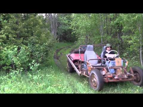 Homemade Dune Buggy VW / Pontiac Firefly (Mad Max inspired) lol