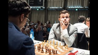 Carlsen's amazing attack Anand could not understand this brutal mating pattern